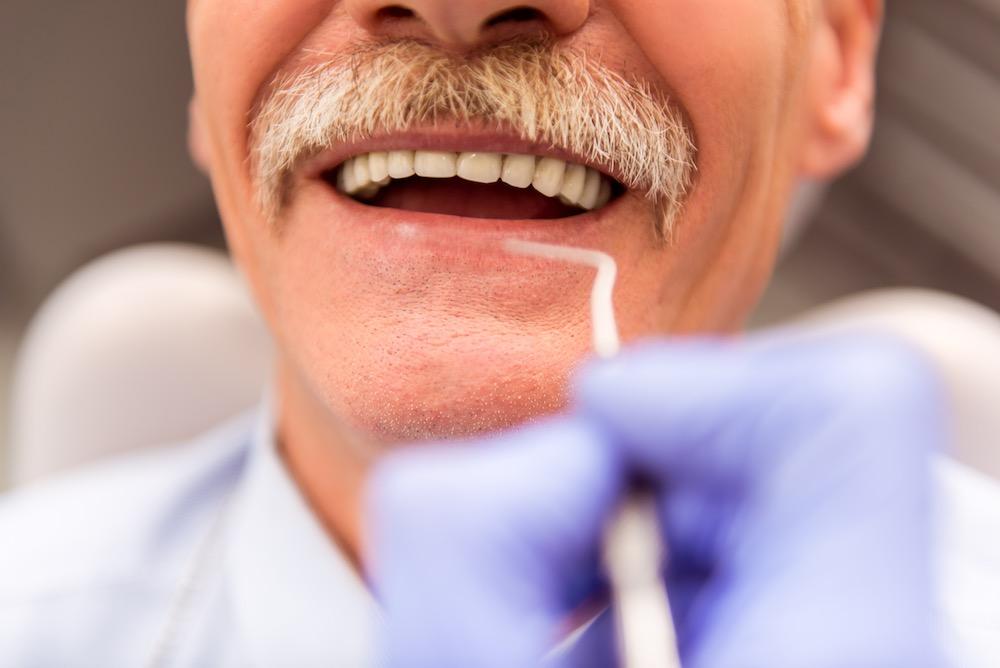 Senior dental procedure